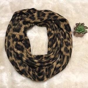 Michael kors scarf Rochelle leopard infinity scarf
